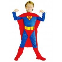 Superman Child Costume ( 5-8 Age)