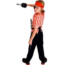 Pirate Child Costume ( 5-8 Age )