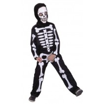 Skeleton Child Costume ( 8-10 Age)
