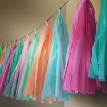 Multicoloured Tassel