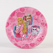 Barbie Plates (set of 8)