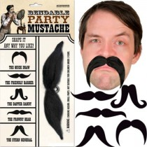 Bendable Party Moustache