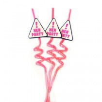 Hen Party Straws (Set Of 3 )