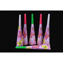 Butterfly Blow Horns (Set of 6)