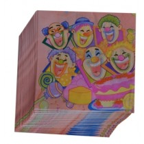 Clown Napkins (Set of 20)