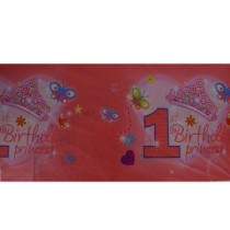 1st birthday Princess  Table cloth