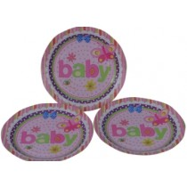 Little Baby  Plates (Set of 8)
