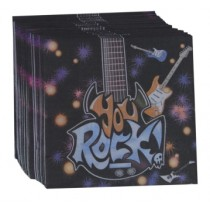 Rock  Napkins (Set of 20)