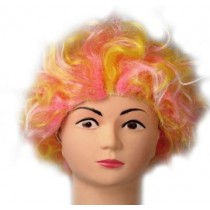 Pink Electric Shock Wig