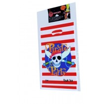 Pirate Party Loot Bags (Set of 8)