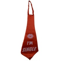 Large I'm Single Tie