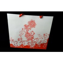 Black Red and White design bag