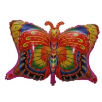 Butterfly foil balloon
