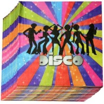 Disco Napkins (Set of 20)