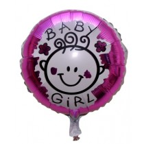 It's a Girl Foil Balloon