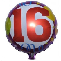 16th Birthday Foil Balloon
