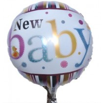 New Baby Foil Balloon