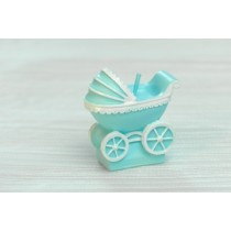 Stroller Candle - Blue