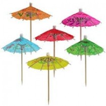 Cocktail Umbrella Toothpicks (set of 12)