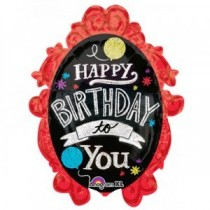 Happy Birthday Supershape Foil Balloon 32''