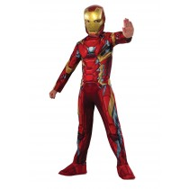 Iron Man costume ( 7 to 9 years Age )