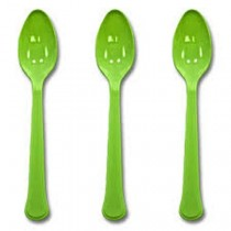 20 pc Spoon Set - Green