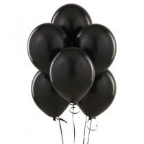 Black Pearl Latex Balloons- set of 10