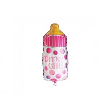 It's  a Girl Bottle shape foil balloon 24''