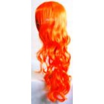 Orange Coloured Wigs