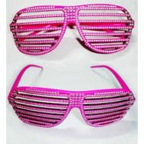 Pink Kanye West Glasses