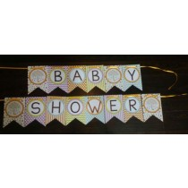 Baby Shower Bunting