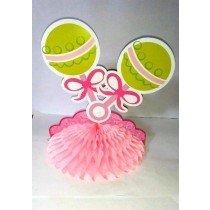 Baby Shower Centrepiece Pacifier Pink