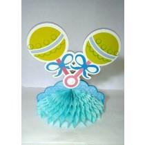Baby Shower Centrepiece Pacifier Blue