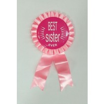 Best Sister Ever Badge