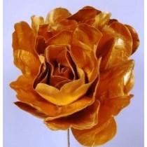 Flower Decoration - Metallic Gold