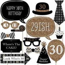 Photo Stick Set - 30th Birthday