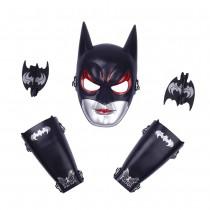Superhero Batman Mask & Arm Gauntlet