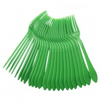 24 pc Fork Set - Green