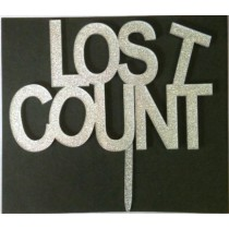 Lost Count Cake Topper