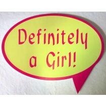 Definitely a Girl !