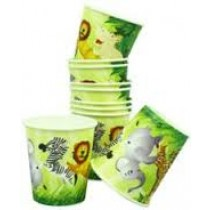 Jungle Paper Cups (set of 10)