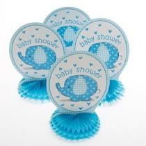 Baby shower Centerpeice Blue ( set of 4  )