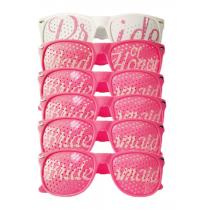 Bachelorette Party Eyeglasses Party Set - Pink