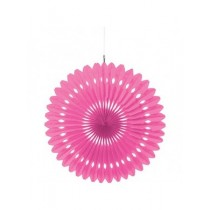 Pink Paper Fan Decoration ( set of 3 ) 15''