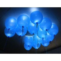 Blue Led Balloons ( pack of 5 )
