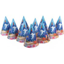 Under The Sea Conical Hat (set of 10)