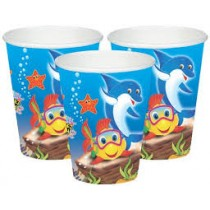 Under The Sea Cups(set of 10)