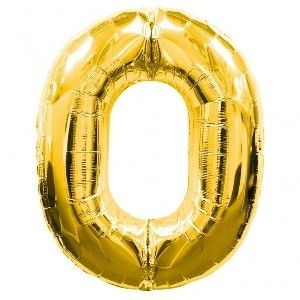 0 - Gold Foil Balloon 40 inches