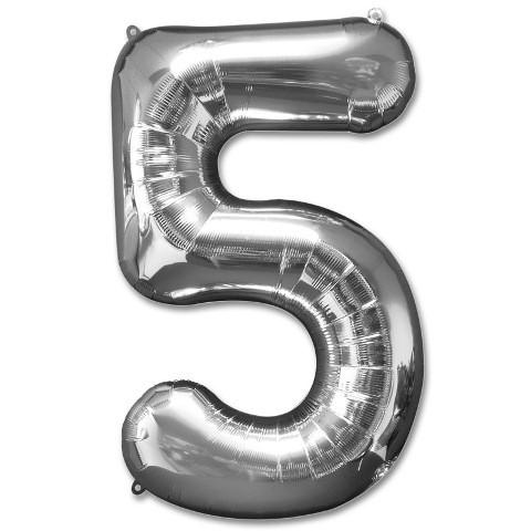 Numeric 5 Foil Balloon 24''