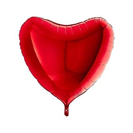Heart Shape Red Foil Balloon